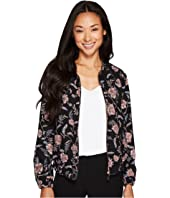 Ivanka Trump - Floral Printed Bomber Jacket