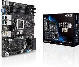 ASUS LGA1151 ECC DDR4 M.2 C246 Server Workstation Micro ATX Motherboard for 8th Generation Intel Core Motherboards WS C246...