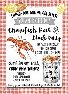 printable crawfish boil invitations