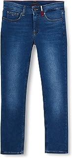 Tommy Hilfiger Scanton Slim Brushed-Brubldnm Jeans Garçon