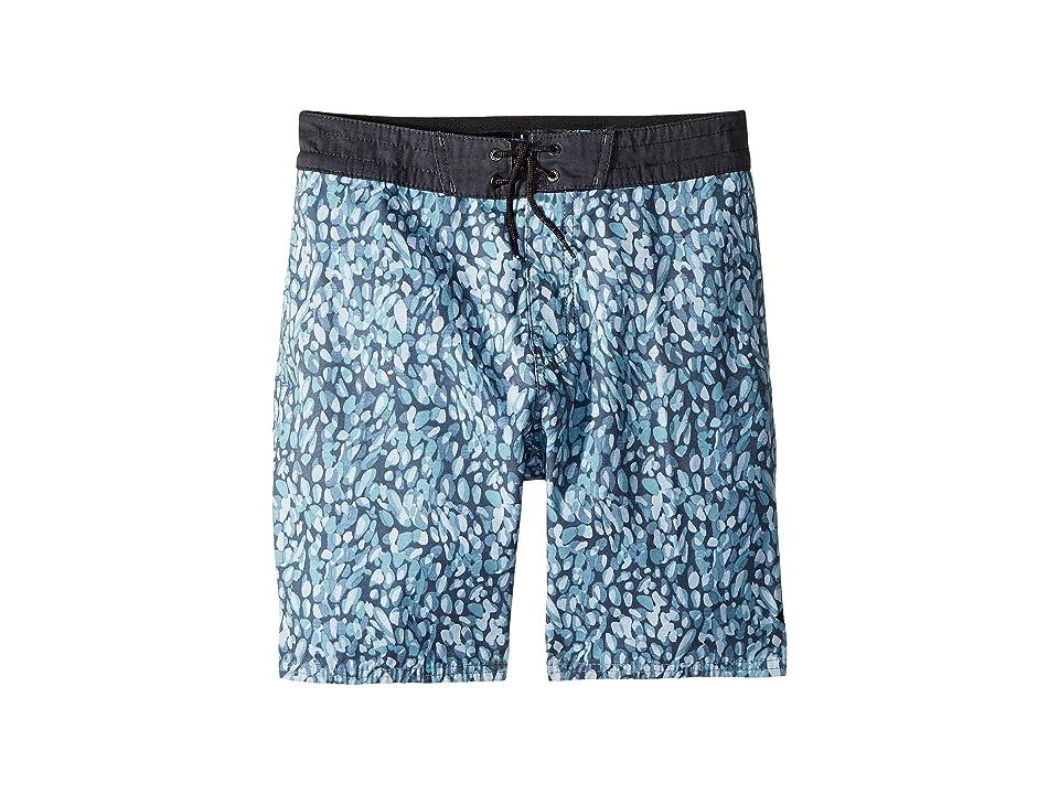 Rip Curl Kids Bocas Layday Boardshorts (Big Kids) (Charcoal) Boy