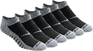 Saucony Men's Multi-Pack Firework Ventilating Performance Comfort No-Show Socks