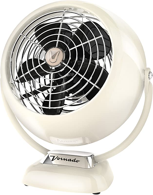 Vornado VFAN Jr Vintage Air Circulator Fan Vintage White