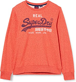 Superdry Men's Vl Premium Goods Crew Sweatshirt