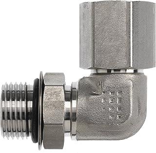 3//8 Bite Type Tube x 1//8-27 Male NPTF 3//8 Bite Type Tube x 1//8-27 Male NPTF Inc. Brennan Industries C2404-06-02 Steel Straight Adapter Flareless Bite Type Fitting