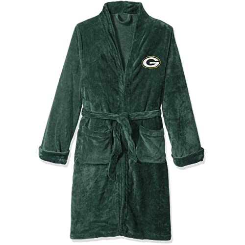 The Northwest Company Officially Licensed NFL Atlanta Falcons Mens Silk Touch Lounge Robe, Large/