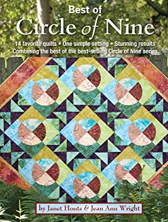 Best of Circle of Nine: 14 Favorite Quilts, One Simple Setting, Stunning Results Combining the Best of the Best-Selling Circle of Nine Series (Landauer) Over 50 Spacers & Step-by-Step Instructions