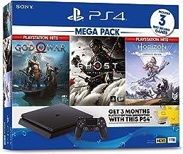 Sony PlayStation 4 Slim 1TB - MEGA PACK #4 - Bundle Console + Videogames + PlayStationPlus 3 months