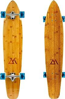 Magneto - Monopatín longboard de 44 pulgadas, madera de