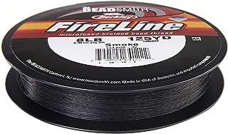 "Beadsmith Fireline Braided Beading Thread 8LB-strength .007"" Ave Diameter, Smoke Grey, Large Roll 125 Yards"