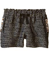 Little Marc Jacobs Resort - Lurex Shorts Panter Pockets Details (Big Kids)