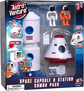 Astro Venture Space Playset - Toy Space Station & Space...