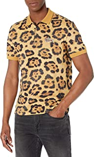 Men's Short Sleeve National Geographic All Over Print Pique Polo Shirt