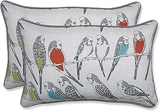 Pillow Perfect Outdoor/Indoor Retweet Mango Rectangular Throw Pillow (Set of 2)