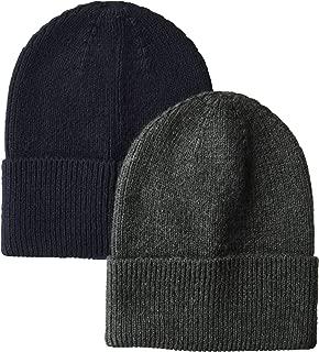 Men's 2-Pack Knit Beanie Hat