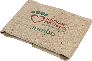 Superior Pet Goods SPGCovFH1 Fitted Hessian Dog Bed Cover, Jumbo