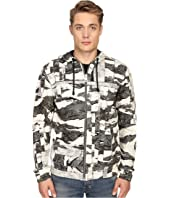 Just Cavalli - Camowork Print Hooded Sweater