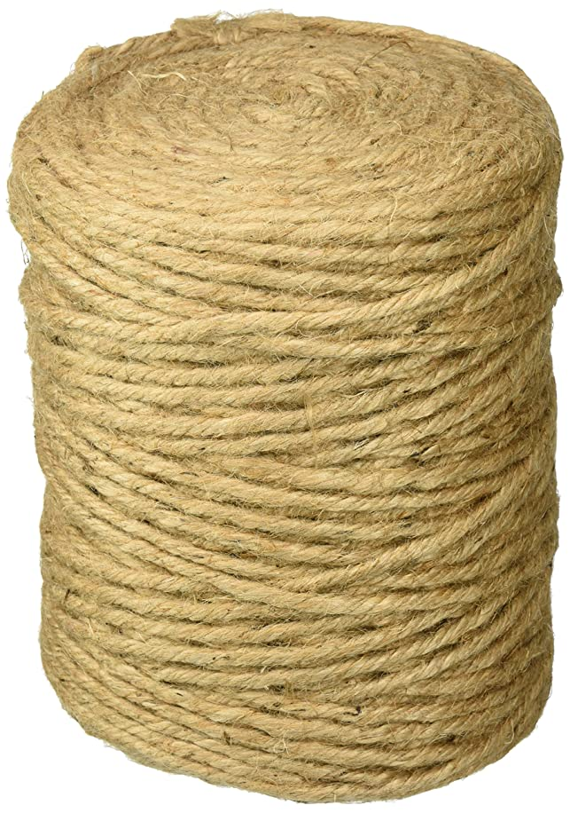Darice 34032D 5-Ply Craft Designer Jute, Natural