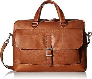 FRYE Men's Oliver 2 Top Handle Handbag, Cognac, One Size