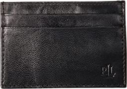 Burnished Card Case w/ Money Clip