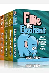 SAFARI COLLECTION (4 Books in 1): 20 Short Stories For Kids, Just For Fun Activities, Games, Jokes, and More! (Fun Time Reader) Kindle Edition