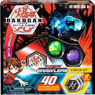 BAKUGAN, Juego de iniciación de Lucha con Criaturas transformadoras BAKUGAN Aquos Garganoid, para Edades de 6 y más