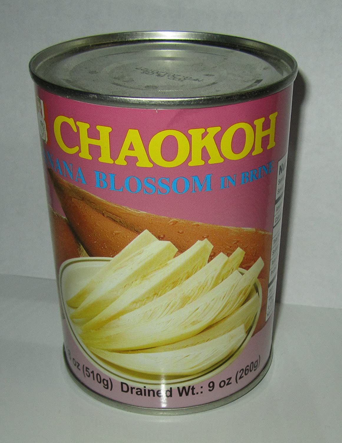 Chaokoh Banana Blossom in Brine quality assurance Pack of Drain Ranking TOP19 Can Four 260g Per