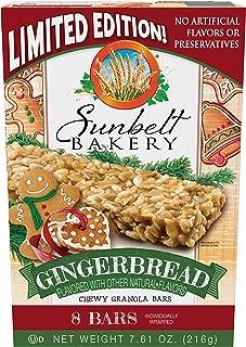 Best sunbelt gingerbread granola bars Reviews