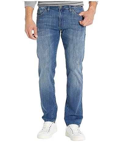 Mavi Jeans Zach Mid-Rise Straight Leg in Dark Blue Authentic Vintage (Dark Blue Authentic Vintage) Men