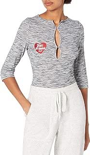 MINKPINK Women's Stay Home Henley Bodysuit