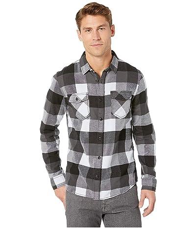 Vans Box Long Sleeve Flannel (Black/Heather) Men
