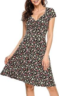 Suchergebnis Auf Amazon De Fur Luftige Sommerkleider Knielang Kleider Damen Bekleidung