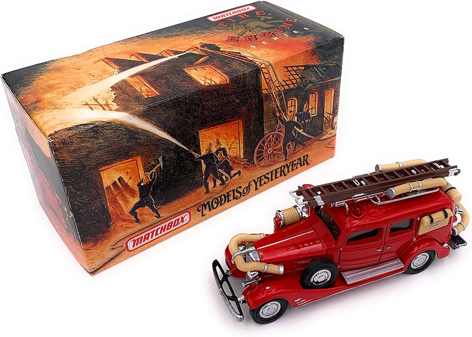 de moda Matchbox 1933 Cadillac Fire Wagon Models of of of Yesteryear Series by Matchbox  calidad fantástica