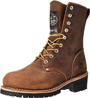 Men's Boot Waterproof Insulated Logger Work Steel Toe - Gb00065