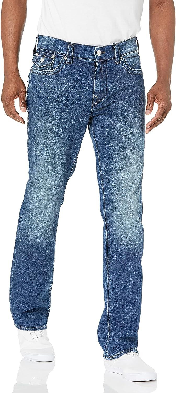 True Religion 本日限定 Men's Ricky Straight Leg Jean 日本最大級の品揃え