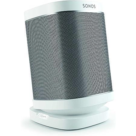 Vogel S Sound 4113 Lautsprecher Tischständer Für Sonos One Sl Play 1 Play 3 Bis Zu 10 Neigbar Bis Zu 360 Schwenkbar Weiß 1x Heimkino Tv Video