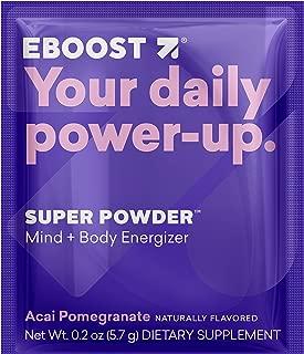 Eboost Vitamin & Antioxidant Energy Super Powder (20 Count) (Acai Pomegranate)