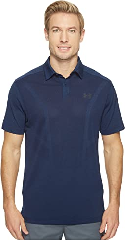 Under Armour Golf - Threadborne Jacquard Polo