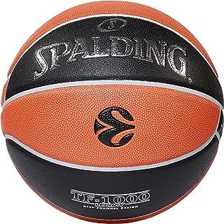 Spalding Euroleague TF1000 Legacy Sz.7 piłka do koszykówki, wielokolorowa 7