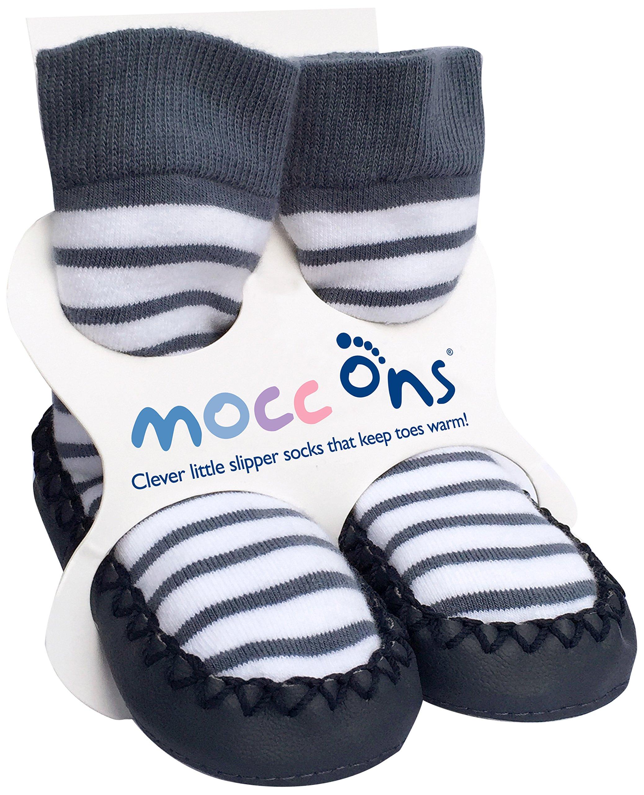 Handmade in the UK. Kids Handknitted Slipper Socks Kids Size 11-12.5