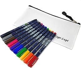 WS-BH10C Fudenosuke dual brush pens 10 color set With original pen case