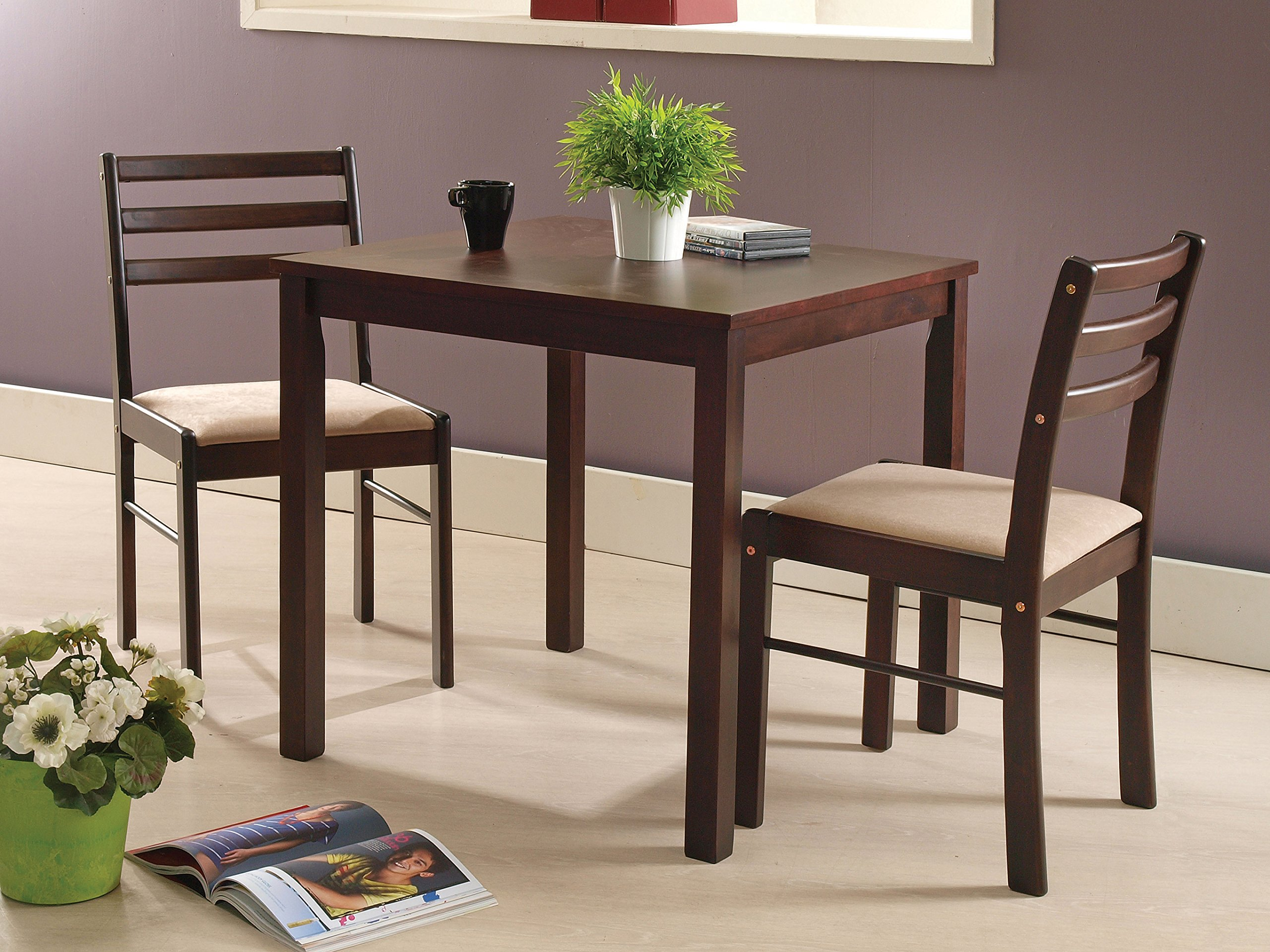 Kings Brand Furniture 9 Piece Dining Room Kitchen Dinette Set, Table & 9  Chairs