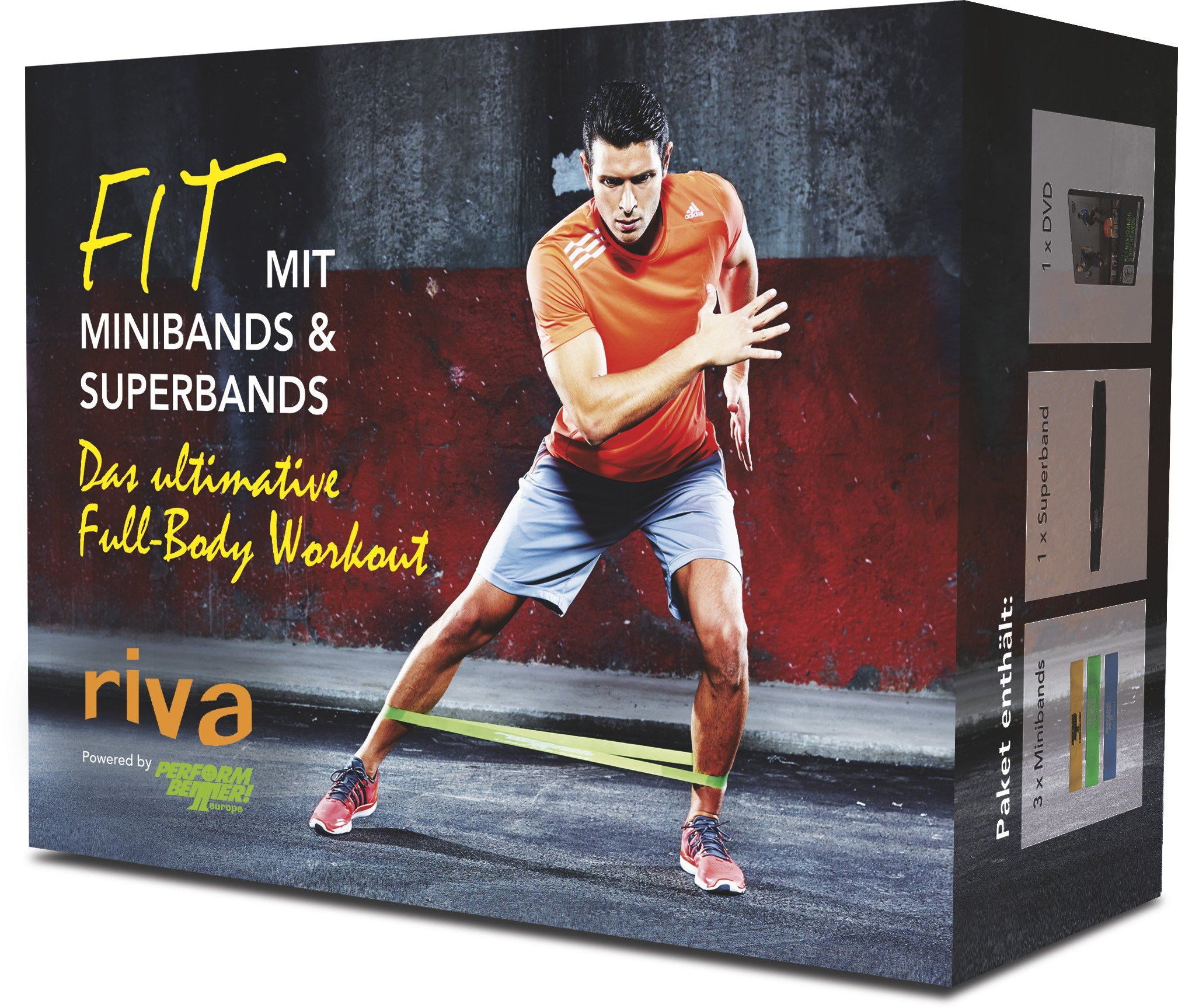 Image OfFaszien-Fitness Fit Mit Minibands & Superbands. Das Ultimative Full-Body Workout