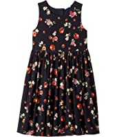Back To School Floral Dress (Big Kids)