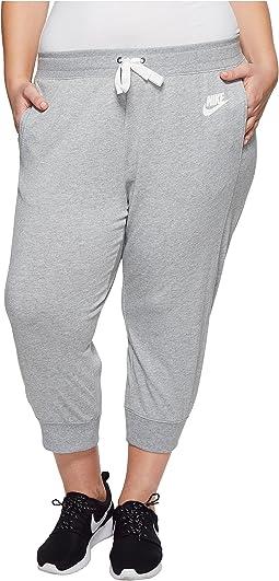 Nike - Sportswear Gym Classic Capri (Size 1X-3X)