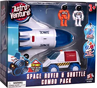 Astro Venture Space Playset - Toy Space Shuttle & Space...