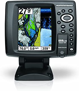 Humminbird 409460-1 688ci HD DI Internal GPS/Sonar Combo Fishfinder with Down Imaging (Black)