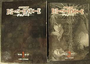 Death Note 2-pack: Death Note Box Set 1 plus Death Note Set 2