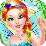 fata principessa gioco per ragazze : spa, trucco e vestire gioco per piccole principesse ! giochi educativi per ragazze