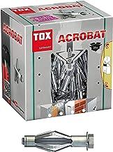 TOX Metalen holle pluggen Acrobat M8 x 68 mm verzinkt, voor bevestigingen in gipsplaten, 25 stuks, 035101181